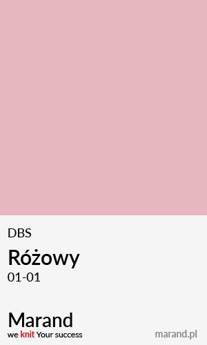 DBS – kolor Różowy 01-01