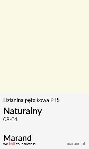 Dzianina pętelkowa PTS – kolor Naturalny 08-01