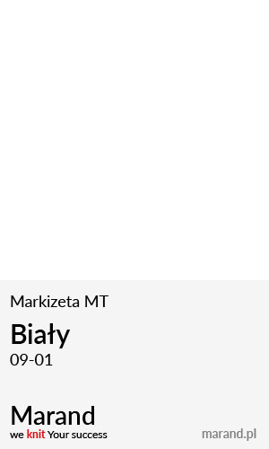 Markizeta MT – kolor Biały 09-01