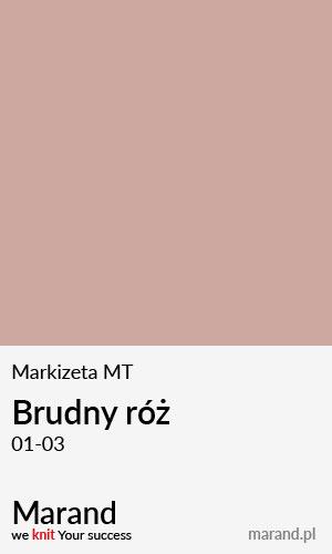 Markizeta MT – kolor Brudny róż 01-03