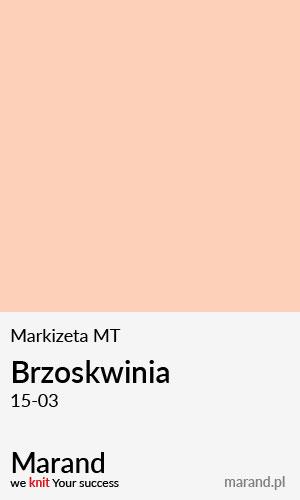 Markizeta MT – kolor Brzoskwinia 15-03