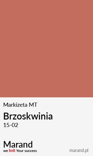 Markizeta MT – kolor Brzoskwinia 15-02
