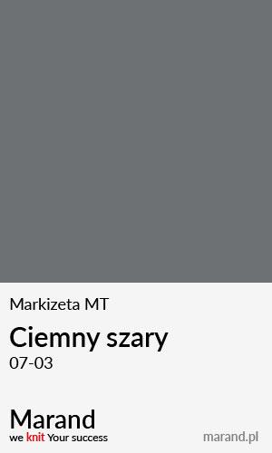 Markizeta MT – kolor Ciemny szary 07-03