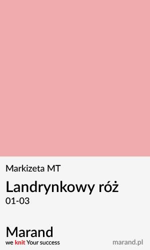 Markizeta MT – kolor Landrynkowy róż 01-04