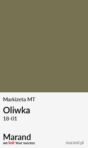 Markizeta MT – kolor Oliwka 18-01
