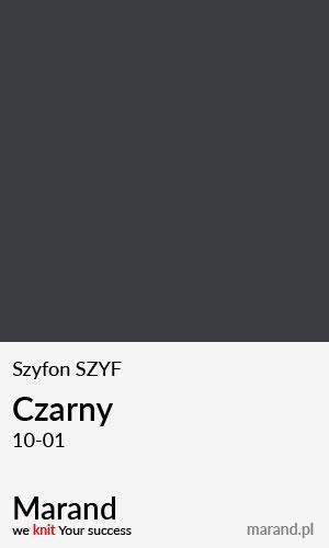 Szyfon SZYF – kolor Czarny 10-01