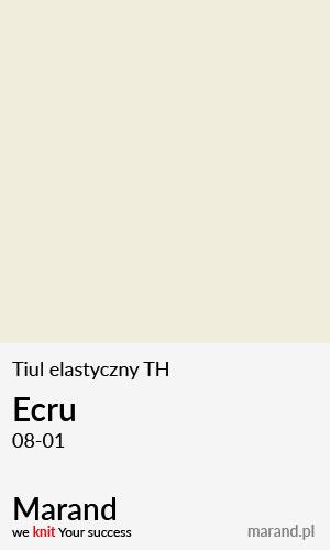 Tiul elastyczny TH – kolor Ecru 08-01