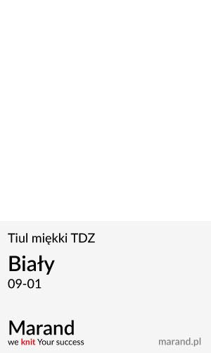 Tiul miękki TDZ – kolor Biały 09-01