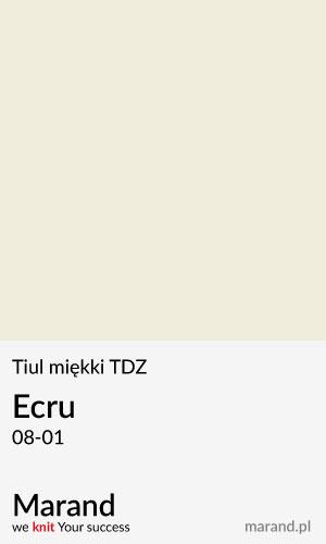Tiul miękki TDZ – kolor Ecru 08-01