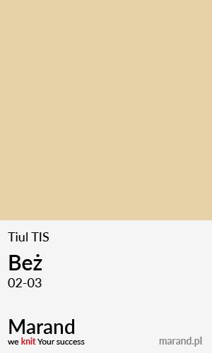 Tiul TIS – kolor Beż 02-03
