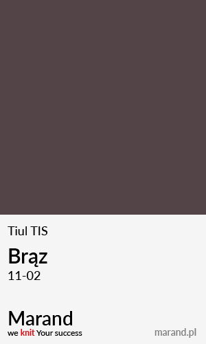 Tiul TIS – kolor Brąz 11-02
