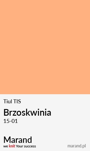 Tiul TIS – kolor Brzoskwinia 15-01