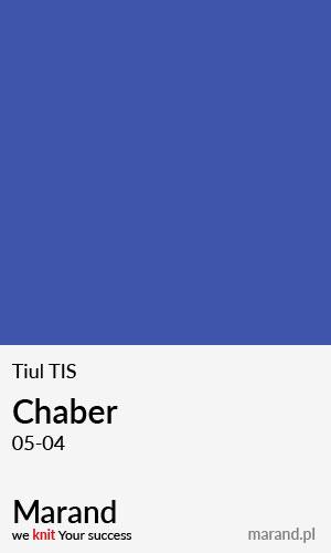 Tiul TIS – kolor Chaber 05-04