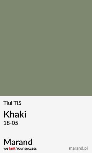 Tiul TIS – kolor Khaki 18-05