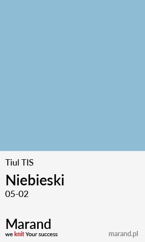 Tiul TIS – kolor Niebieski 05-02