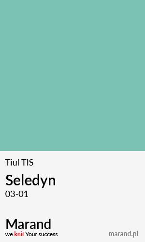 Tiul TIS – kolor Seledyn 03-01