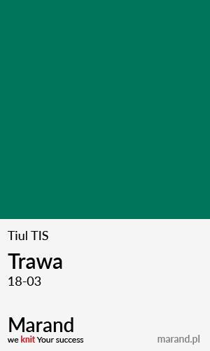 Tiul TIS – kolor Trawa 18-03