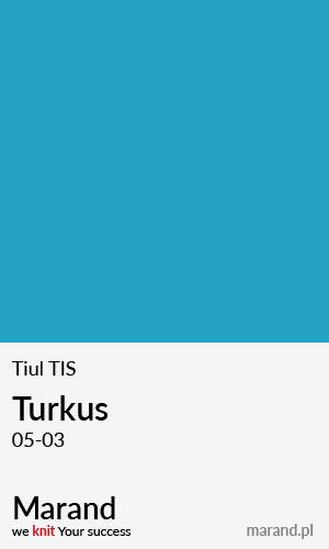 Tiul TIS – kolor Turkus 05-03