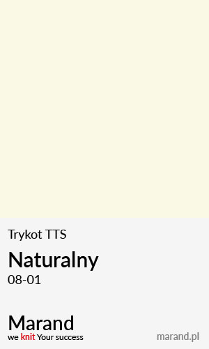 Trykot TTS – kolor Naturalny 08-01
