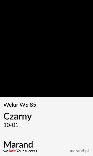 Welur WS 85 – kolor Czarny 10-01