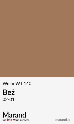 Welur WT 140 – kolor Beż 02-01