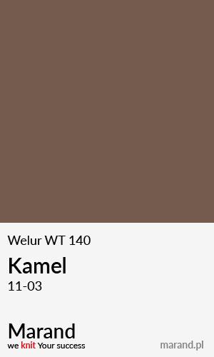 Welur WT 140 – kolor Kamel 11-03