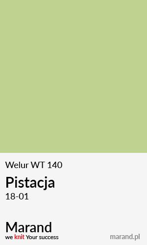 Welur WT 140 – kolor Pistacja 18-01