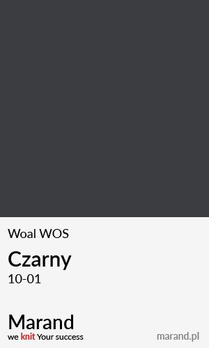 Woal WOS – kolor Czarny 10-01
