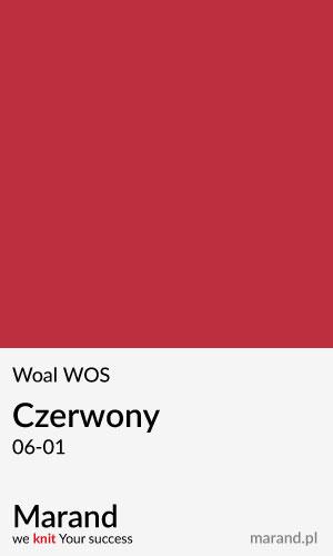 Woal WOS – kolor Czerwony 06-01
