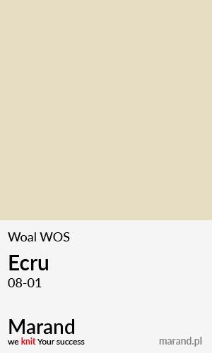 Woal WOS – kolor Ecru 08-01