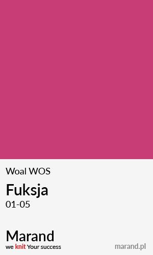 Woal WOS – kolor Fuksja 01-05