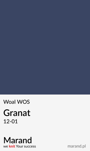Woal WOS – kolor Granat 12-01