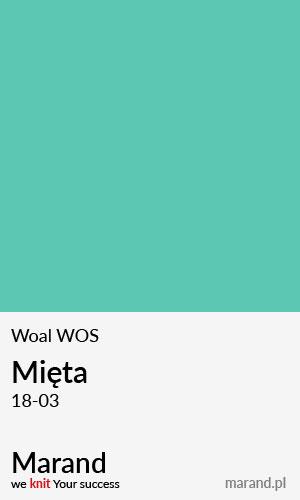 Woal WOS – kolor Mięta 18-03