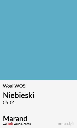 Woal WOS – kolor Niebieski 05-01