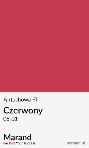 Fartuchowa FT – kolor Czerwony 06-01