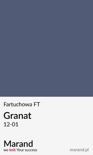 Fartuchowa FT – kolor Granat 12-01