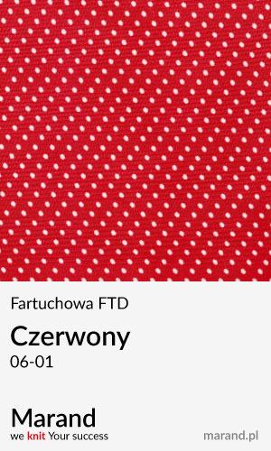 Fartuchowa FTD – kolor Cerwony 06-01