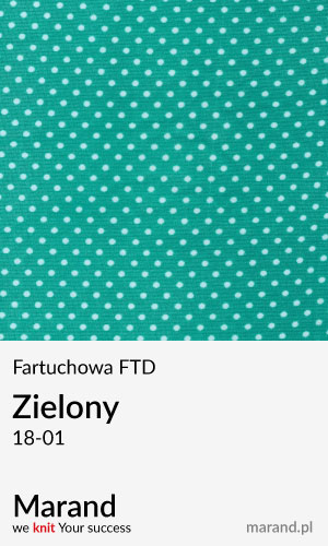 Fartuchowa FTD – kolor Zielony 18-01