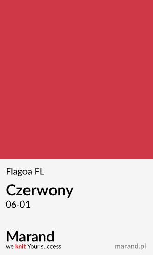 Flagowa FL – kolor Czerwony 06-01