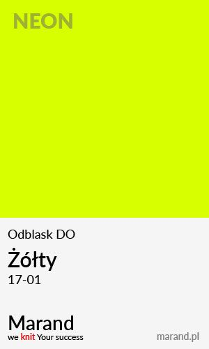 Odblask DO – kolor Żółty 17-01