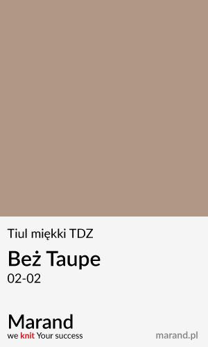 Tiul miękki TDZ – kolor Beż Taupe 02-02