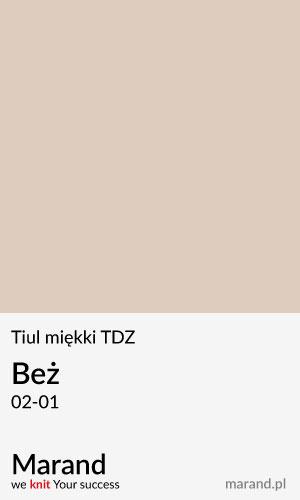 Tiul miękki TDZ – kolor Beż 02-01