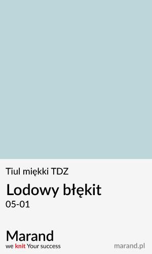 Tiul miękki TDZ – kolor Lodowy błękit 05-01
