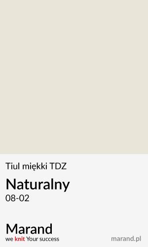 Tiul miękki TDZ – kolor Naturalny 08-02