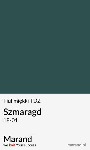 Tiul miękki TDZ – kolor Szmaragd 18-01