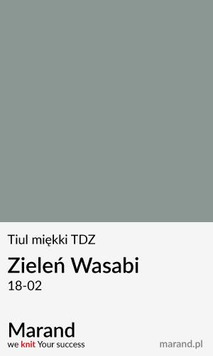 Tiul miękki TDZ – kolor Zieleń Wasabi 18-02