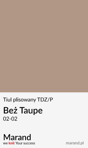 Tiul plisowany TDZ/P – kolor Beż Taude