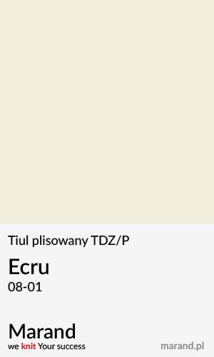 Tiul plisowany TDZ/P – kolor Ecru 08-01
