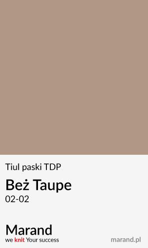 Tiul paski TDP – kolor Beż Taupe 02-02