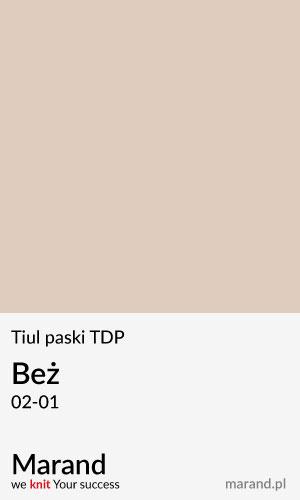 Tiul paski TDP – kolor Beż 02-01